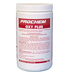 Prochem - Oxy Plus - Removes Mild Browning and Brightens Carpets - Powder - 2 lbs Jar - B155