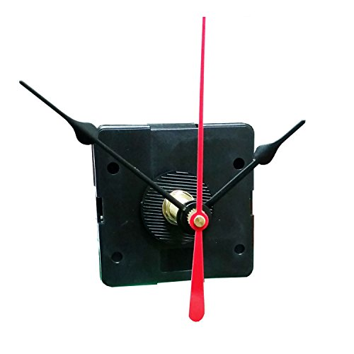 "Quartex® Q-80 Quartz Clock Movement, 1/2"" Maximum Dial Thickness, 15/16"" Hand Shaft Length"