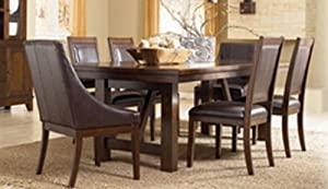 Mahogany Dining Room Table By Ashley Furniture Tables