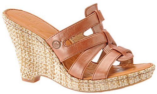 New Born Tinka Wedge Rust Ladies 7 $105