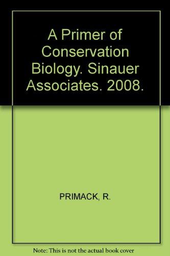 Primer of Conservation Biology
