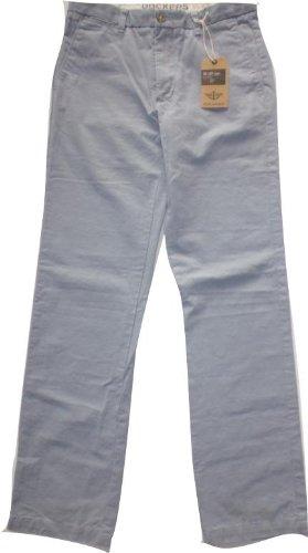 Dockers Pantalone Slim Fit Celeste W32L34