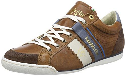 Pantofola d'OroPESARO PICENO - Scarpe da Ginnastica Basse Uomo , Marrone (Marrone (Tortoise Shell)), 42