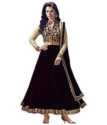 HansCreation Designer Semi Stitched Dress Material with Dupatta