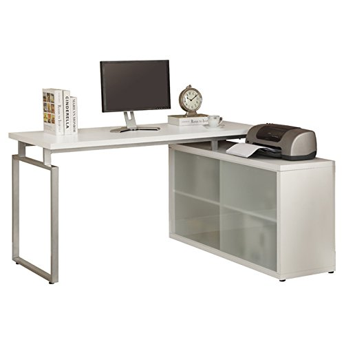 Home Living Room Office Buy Kesley Computer Desk Table Furniture - White
