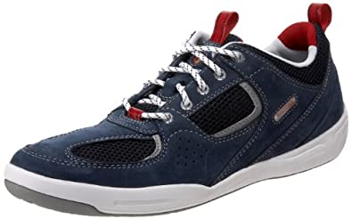 Rockport Men's Admiral Place Oxford,Navy/Red,15 M Us