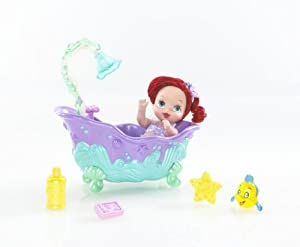 Mattel Disney Princess: Ariel Royal Nursery Mermaid Magic Bathtub Playset at Sears.com