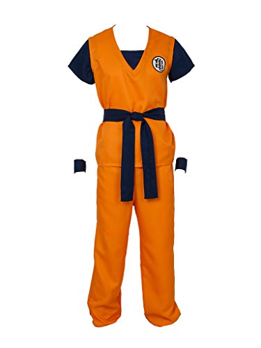 DRAGON BALL Z Son Goku Turtle senRu Cosplay Costume Outfits 2565(L)