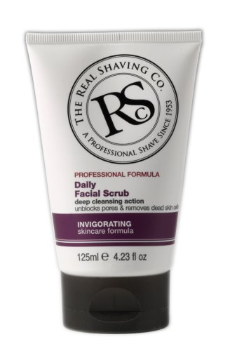 The Real Shaving Co., Professional Formula Daily Facial Scrub, 4.23 fl. oz. (Real Shaving Company Shave Cream compare prices)