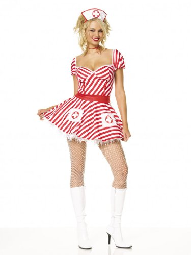 Sexy Candy Striper Dress Theatre Costumes