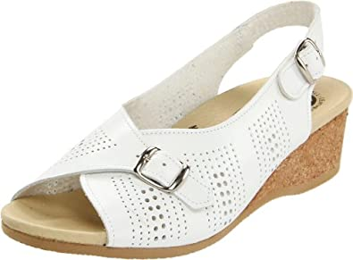 Worishofer Women's 562 Slingback,White,35 EU (US Women's 5 M)