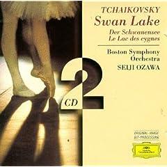 チャイコフスキー作曲、バレエ組曲「白鳥の湖」、小澤征爾指揮、ボストン交響楽団