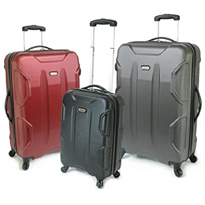 Karabar Cabin Approved Hard Suitcase 55 x 35 x 20 cm all parts included