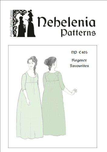 Regency Favourites Pattern Size Pack A Bust 33 1/2 - 38 1/2