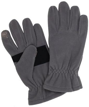 Echo Design Men's Touch Glove, Grey, Medium