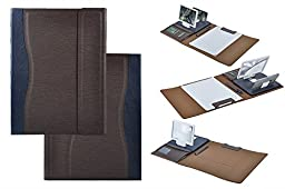 Design Portfolio Case with Phone Screen Magnifier, Letter Size Writing Pad for Notepad