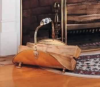 Fireplace Log Holder Rack, Hearth Accessories