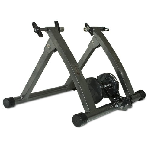 New Indoor Exercise Bike Bicycle Trainer Stand W/ 5 Levels of Resistance
