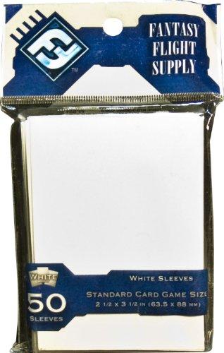 Card Sleeves: Standard White (50 Sleeves Pack) - 1