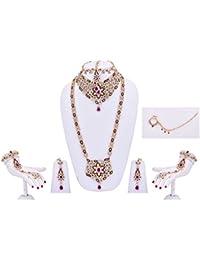 Purple Star Bridal Jewellery Set