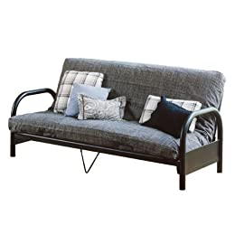 College Dorm Room Futon Sofa Bed & Single Sleeper Chair