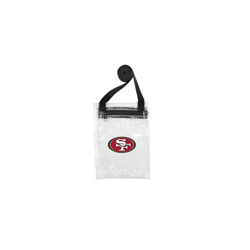 NFL San Francisco 49ers Clear Game Day Pouch