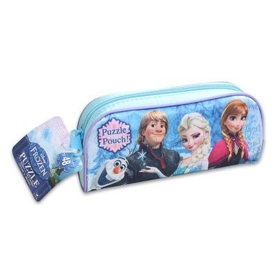 Frozen Puzzles for Kids: 48-piece Frozen Jigsaw Puzzle for Girls with Cute Bag for All Your Frozen Accessories - 1