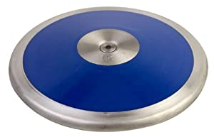 Buy Champion Sports Low-Spin Competition ABS Plastic Discus (1.6 kg) by Champion Sports