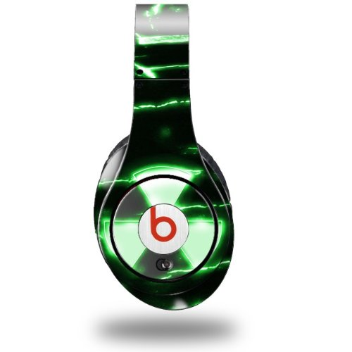 Radioactive Green Decal Style Skin (Fits Original Beats Studio Headphones - Headphones Not Included)