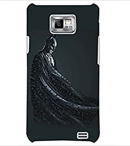 PRINTSWAG CARTOON CHARACTER Designer Back Cover Case for SAMSUNG GALAXY S2