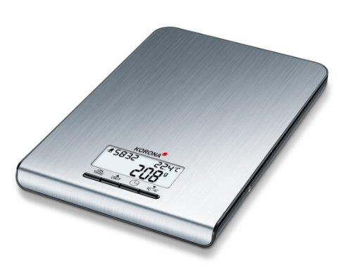 Korona 2050169 Kim Balance de Cuisine Électronique Inox