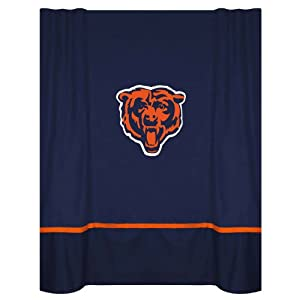 Nfl Chicago Bears Mvp Shower Curtain Sports Fan Shower Curtains Sports Outdoors