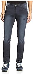 Versace Jeans Men's EA2GHB0SA-EHEC7G-E231 Skinny Twill Jeans, Blu Notte, 40 US