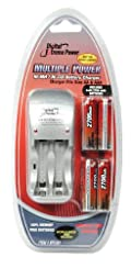 Bower XPC427 Extreme Power Ni-MH 2700 AA Batteries and AA/AAA Charger