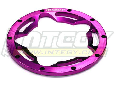 Integy RC Hobby T6865PURPLE Type II F/R Beadlock Ring (1) for HPI Baja 5B (Hpi Baja 5b Parts compare prices)