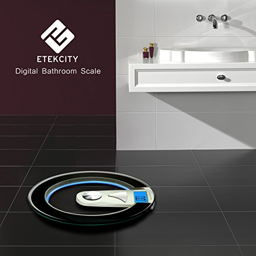 Bathroom Floor Tiles Weight : Etekcity digital body weight bathroom scale lb kg
