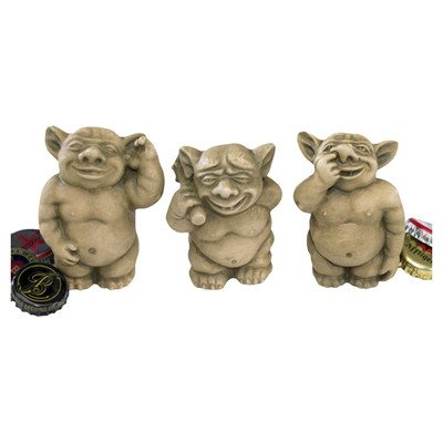 Design Toscano The Picc-a-Dilly Gargoyle Sculptures