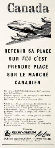 1953-ad-canada-trans-canada-airline-tca-24-boulevard-capucines-french-airplane-original-print-ad