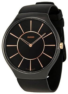 Rado True Thinline Black Ceramic Unisex Watch R27741159