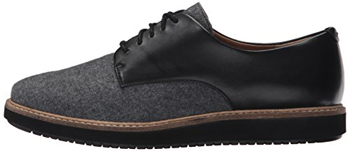 Clarks Women's Glick Darby Synthetic Oxford, Grey Combo, 8.5 M US