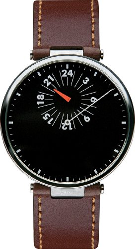 Alessi Unisex AL18001 Tanto X Cambiare Brown Strap Watch