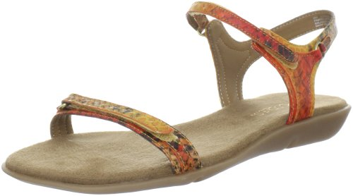 Aerosoles Women's Screen Saver Sandal,Orange Multi,7 W US
