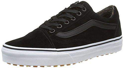 vans-old-skool-zapatillas-unisex-adulto-negro-mte-black-tweed-42-eu
