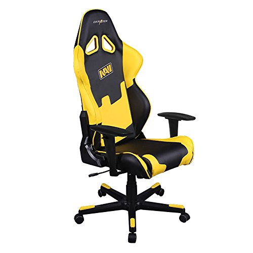 dx racer oh rf21 ny navi black yellow navi office chair gaming chair