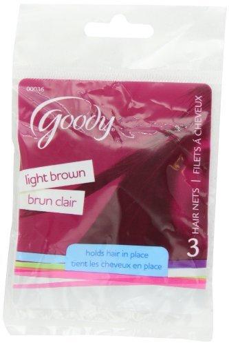 goody-hair-net-color-marron-claro-3-count-tamano-3-hilos-modelo-hardware-de-herramientas-de-36-y-sto