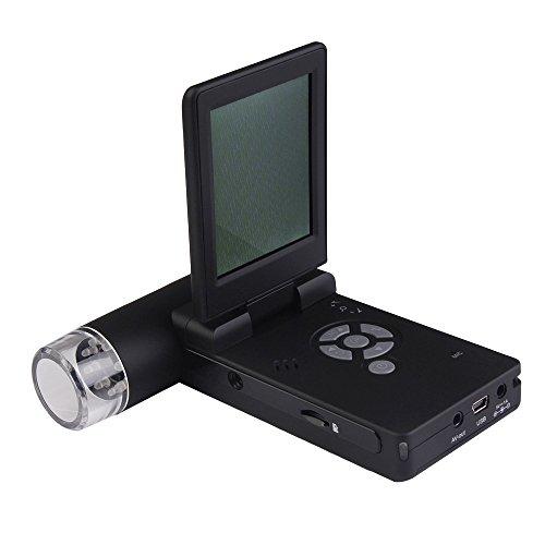 Vktech® Foldable 500X Handheld Digital Mobile Microscope 5Mp Camera 3 Inch Screen