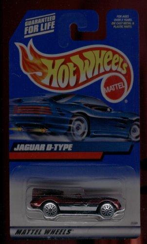 Hot Wheels 2000-180 Jaguar D-Type 1:64 Scale