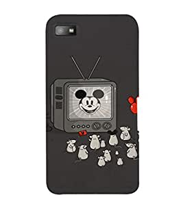 EPICCASE Mick Mouse(s) Mobile Back Case Cover For BlackBerry Z10 (Designer Case)