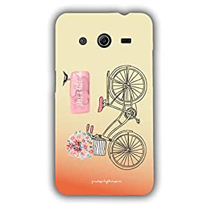 Designer Phone Covers - Samsung Core 2-take-a-ride