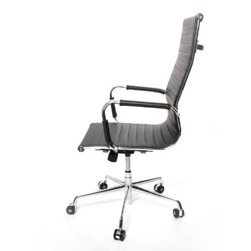 Design schreibtischstuhl  Design Schreibtischstuhl / Bürostuhl Manhattan mit schwarzem ...
